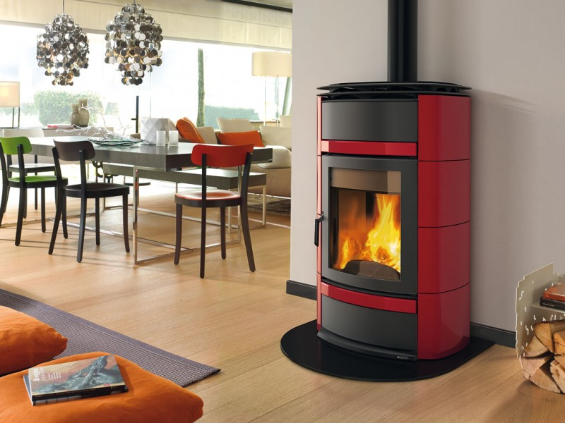 Extraflame Norma S Hydro D.S.A Wood Stove Boiler   Wood Stoves With Boiler