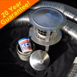 "Premium 7"" Flexible Flue Kit"